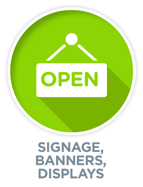 Signage, Banners & Displays